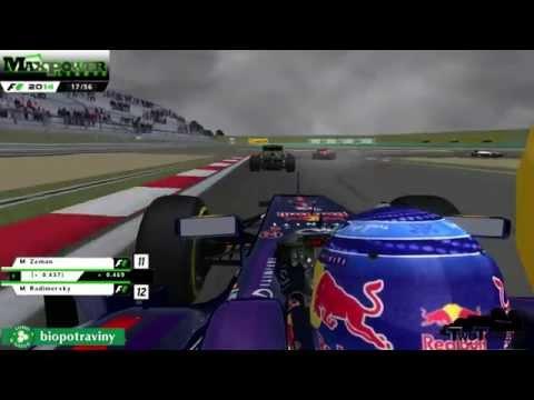 rFactor | F1 2014 | VC Číny | Závod