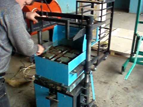Станок для изготовления шлакоблоков - СКАТ-07