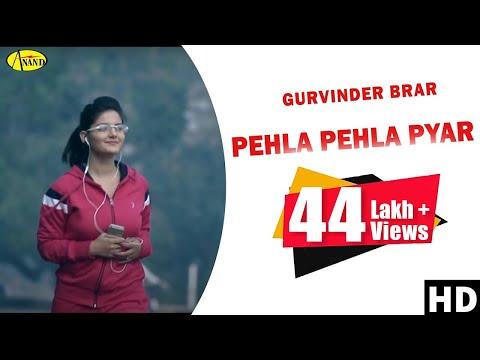 Pehla Pehla Pyar Gurvinder Brar || Brand New Song || 2014 - Anand Music video