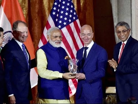 Jeff Bezos at the US-India Business Council (USIBC) Leadership Summit 2016