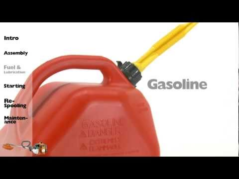 Husqvarna String Trimmers - Fuel & Lubrication