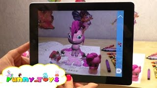 PINKIE PIE My Little Pony Colouring Page  YouTube