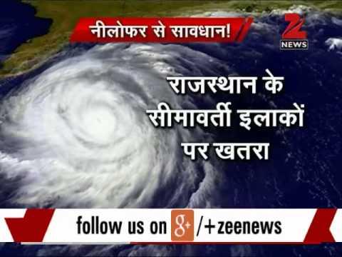Gujarat Braces For Cyclone Nilofar; Rajasthan Put On Alert video