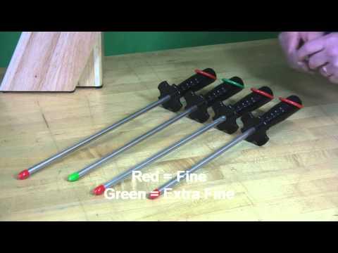 Video of DMT Diamond Steel™ Sharpener