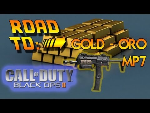 Road to: GOLD-ORO, camuflaje MP7 - BO2