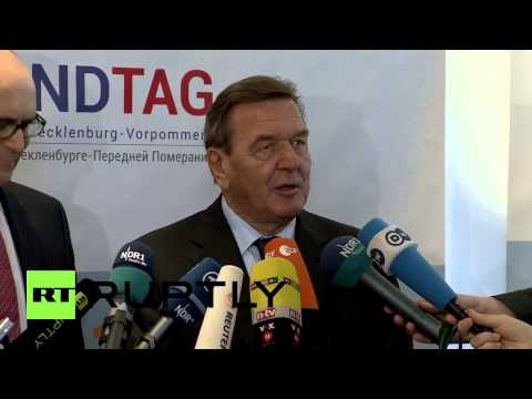 Germany: 'EU sanctions against Russia are wrong,' - ex-chancellor Schroeder