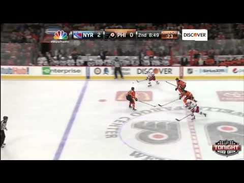 Game 22. Philadelphia Flyers vs New York Rangers (28 november 2014)