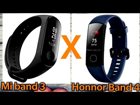 Mi Band 3 ou Honnor Band 4