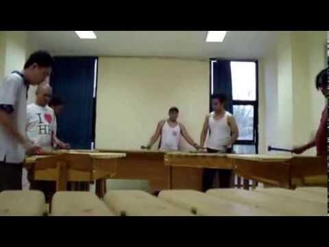 Kolintang Kawanua Jakarta (k2j) - Tua Tua Keladi (indonesian Pop Song) video