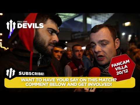 I Just Lost £100! | Aston Villa 1 Manchester Utd 1 | FANCAM