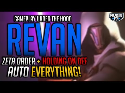 Jedi Knight Revan is Going to Change Arena Meta!! | Holding on Defense & Zeta Priority Order #SwGOH