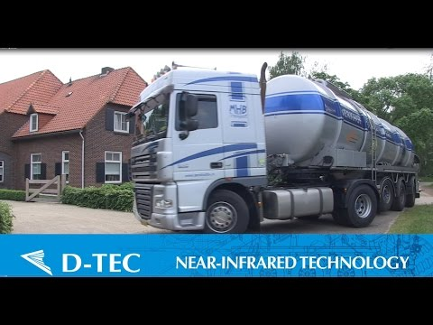 D-TEC Nabij-Infrarood op mesttanktrailer