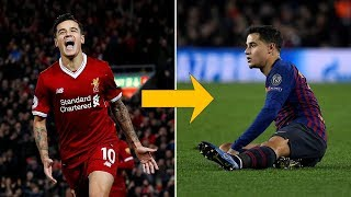What the hell happened to Coutinho? - Oh My Goal