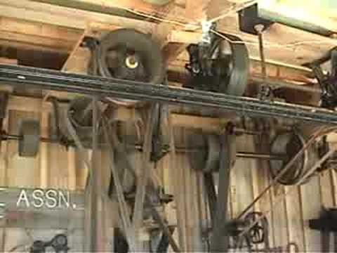 Belt Powered Machine Shop Youtube