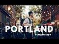 Downtown Portland   Travel Vlog: Oregon Day 1