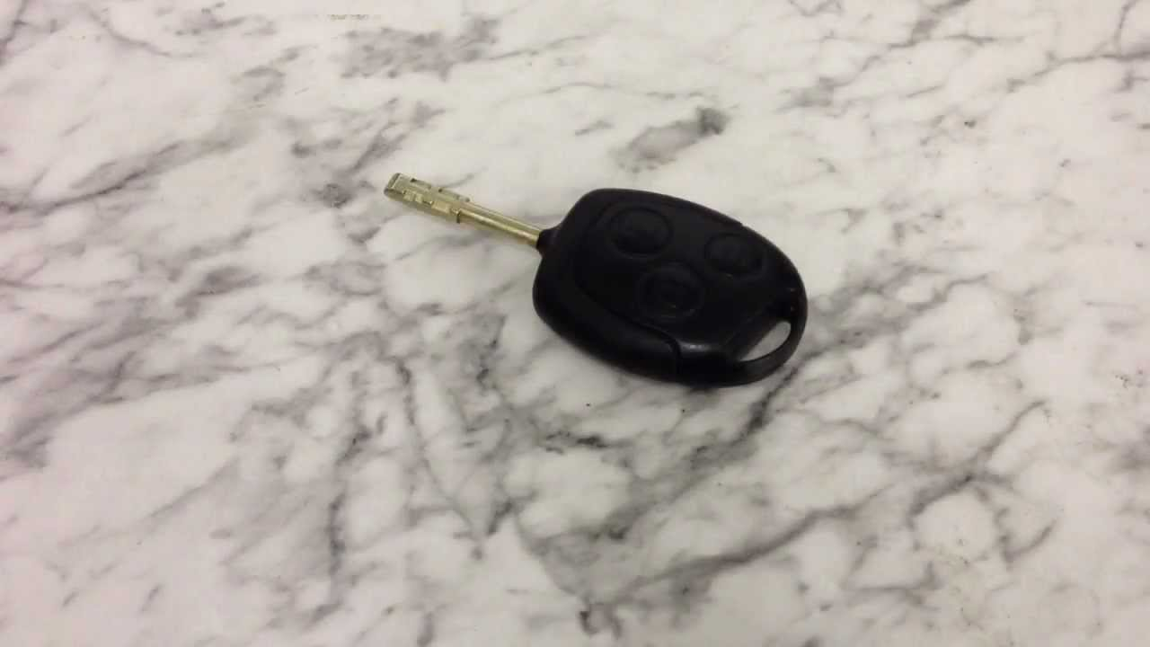 How To Do A Ford Key Fob Battery Change Mondeo Focus