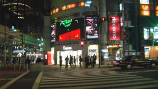 Sights And Sounds Of Roppongi Tokyo Japan ??? (Night Walk)
