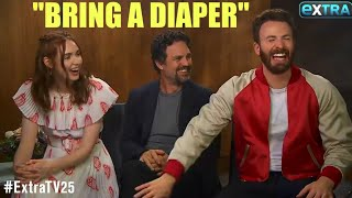 AVENGERS ENDGAME CAST: FUNNIEST MOMENTS [PART 1/7]