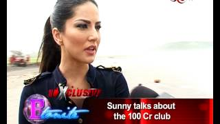 Sunny Leone shooting for her film in Goa