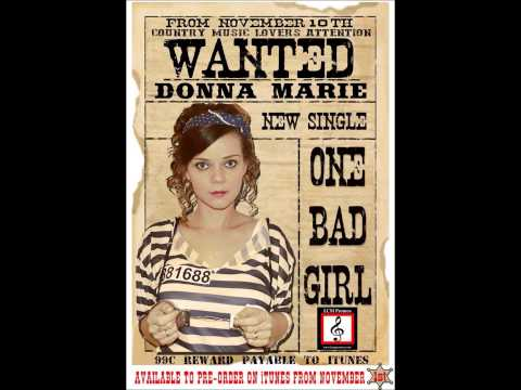 Donna Marie Interview for One Bad Girl