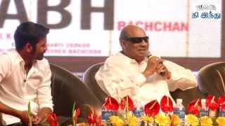 Jeppiaar Speaks about Dhanush in Shamitabh Function | Tamil The Hindu