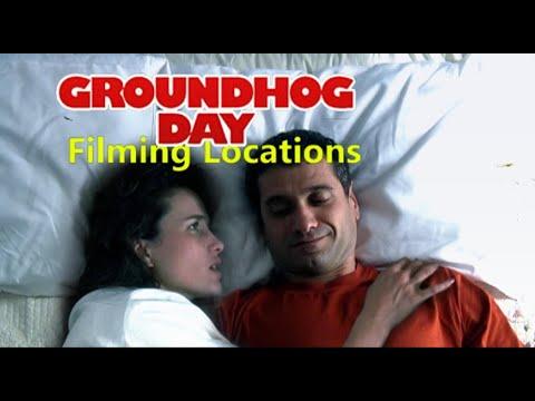 Groundhog Day 1993 ( Filming Location ) Bill Murray