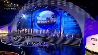 Phần thi áo tắm – Hoa hậu Việt Nam 25/8/2012