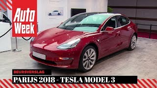 Tesla Model 3 - Parijs 2018 Special - English subtitles