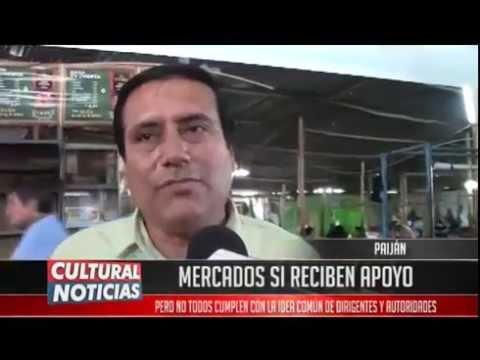 Municipalidad de Paiján apoya mercados el Tambo y San Salvador