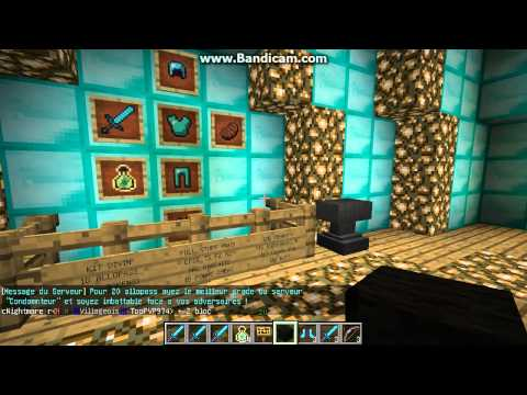 Minecraft   Serveur PvP/Faction 1.5.2   Crack ON