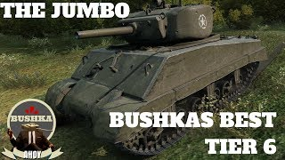 The Sherman Jumbo My Favourite Tier 6 Medium World of Tanks BLitz