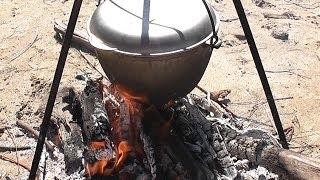 УХА рыбацкая НА КОСТРЕ пошаговый видео рецепт
