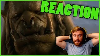 SAURFANG: OLD SOLDIER REACTION | New Varok Saurfang Cinematic Reaction World of Warcraft BfA