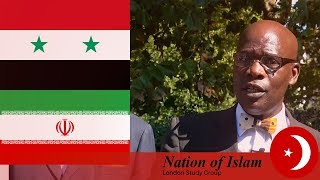 Video: The War Hungry Leech will never give up until Syria and Iran are destroyed - Leo Muhammad (NOI)
