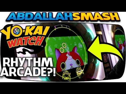 I PLAYED A YO-KAI WATCH RHYTHM ARCADE!