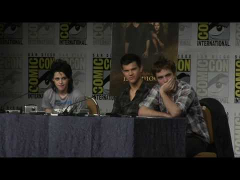 New Moon Comic Con Press Conference Part three in HD
