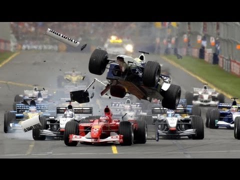 F1 Crashes - Ralf Schumacher, Melbourne 2002