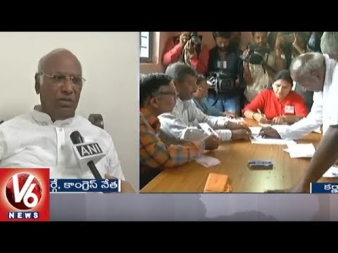 Congress Leader Mallikarjun Kharge Confident Of Winning Karnataka Assembly Elections | V6 News