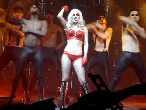 Lady Gaga - Boys Boys Boys: Queen Elizabeth Theater Dec 11, 2009 Monster Ball Tour video