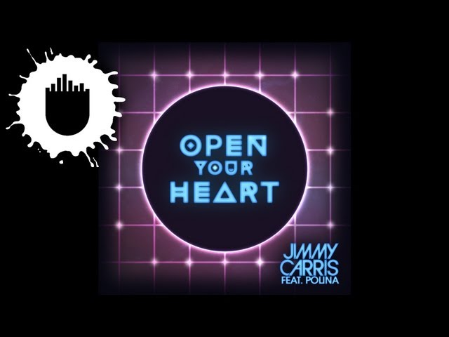 Jimmy Carris feat. Polina - Open Your Heart (Cover Art)