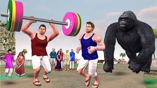 जिम पहलवान Gym हिंदी कहानियां Hindi Kahani | Hindi Stories | Bedtime Moral Stories Hindi Fairy Tales