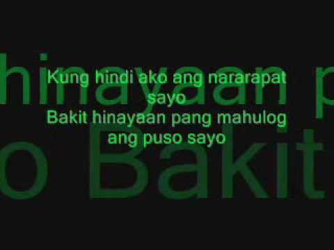 Kanino Ba Dapat Lyrics (rap) Music Videos