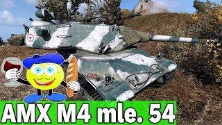 WG NIE POTRAFI BALANSOWAĆ CZOŁGÓW - AMX M4 mle. 54 - World of Tanks