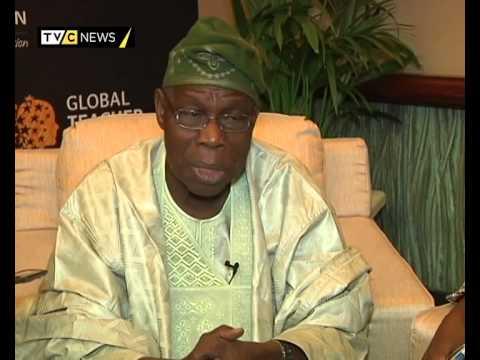 Former Nigerian president Olusegun Obasanjo speaks on 2015 elections | TVC News