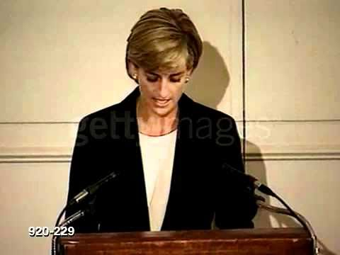 speech on depression princess diana Princess diana's untimely death in august 1997 shocked the world, and the outpouring of sympathy from people around the world was a true indication of the kind of reach and influence she had.