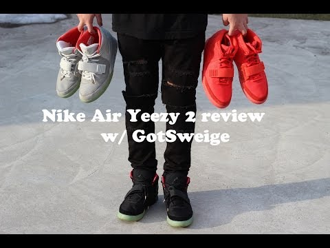 Nike Air Yeezy 2 review | Red October, Solar and Plats : Shot by @GotSweige