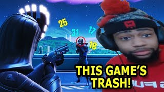 """Fortnite's Worst """"THIS GAME'S TRASH"""" Moments of All Time! #3"""