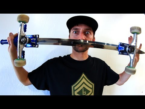 CAN YOU SKATE A ZELDA MASTERSWORD?!