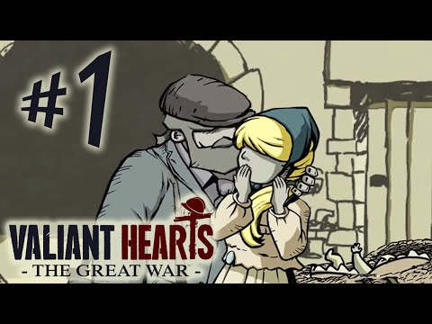 Valiant Hearts: The Great War - Capítulo 1: Nuvens Negras [ Playstation 4 - PT- BR ]