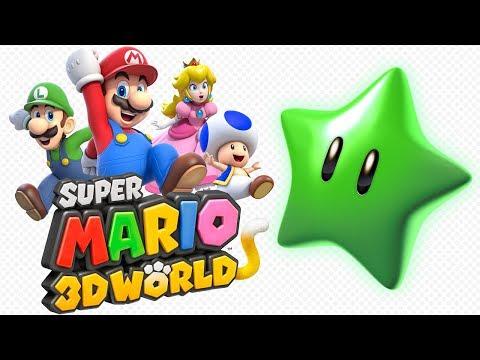 Super Mario 3D World - All Green Star Locations! 100%!